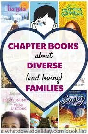 12 chapter books about diverse families for kids