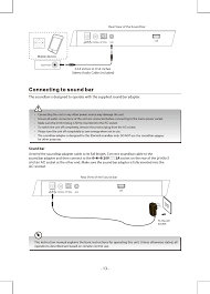 ESB2018 Element 2.0 Sound bar User Manual Shenzhen 3nod Digital Technology