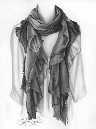 how to draw clothing and fabric lee hammond artistsnetwork a drapy scarf