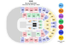 Wwe Raw Bon Secours Wellness Arena