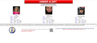AMBER Alert for 2 children out of ...