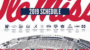 2019 football schedule graphic
