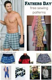 Free Mens Sewing Patterns