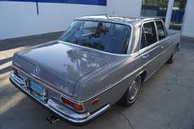 We are proud to offer this 280se to the most sophisticated collector, investor or enthusiast who understands and appreciates the investment. 1972 Mercedes Benz 280se 4 5 German Cars For Sale Blog