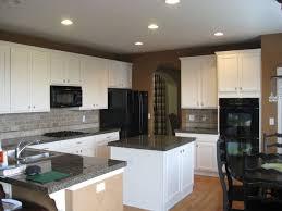 white paint for kitchen cabinetsKitchen Design  Wonderful Grey Granite Countertop Repaint Kitchen