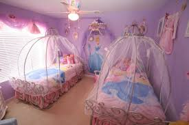 Good Beautiful Disney Princess Themed Bedroom Design With Cute Twin Bed And  Ceiling Fan