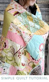 Tuesday Tutorial: Snuggly Layer Cake Quilt & a March Bag Giveaway ... & Patchwork Adamdwight.com