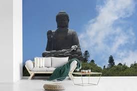 Bolcom De Tian Tan Boeddha In Honkong Fotobehang Vinyl 540x360 Cm