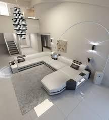 Modern U Shaped Sofa Robotena