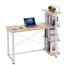 office desk workstation. Modern Home Office Desk Corner Computer PC Table Workstation With Bookcase  Shelf Furniture Dropshipping Office Desk Workstation V