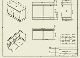 studio compact rack desk plans