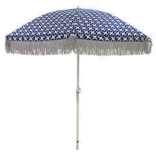 beach umbrella. Exellent Umbrella BLU Bonnie And Neil Beach Umbrella CCBONNIE20BLU U003e Inside