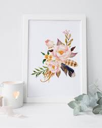 >shabby chic wall decor floral nursery print watercolor flower print  shabby chic wall decor floral nursery print watercolor flower print floral wall art