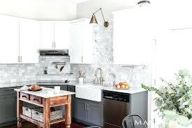 living with marble kids should i use in the kitchen its backsplash subway tile