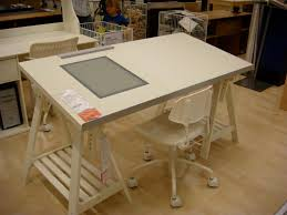 amazing drafting table with lightbox ikea drafting table drawing