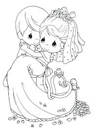 Free Printable Wedding Coloring Pages At Getdrawingscom Free For