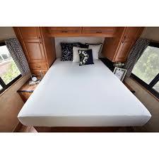 short queen memory foam rv mattress