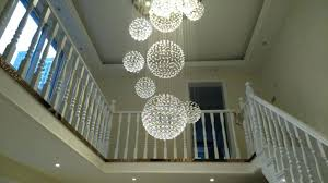 raindrop chandelier lighting long hybrid lounge modern with crystals