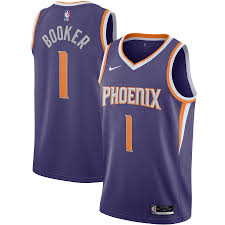 Devin booker was seen on instagram on tuesday wearing his pal's jersey with a very specific a photo of phoenix suns shooting guard devin booker out on a boat in the water is making the the phoenix suns appear to have new the valley jerseys dropping, plus we take a big picture look at. Men S Phoenix Suns Devin Booker Nike Purple 2020 21 Swingman Jersey Icon Edition
