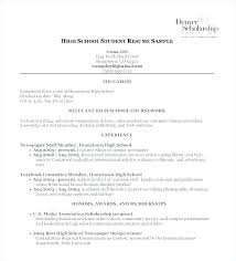 College Resume Template High School Senior. Free Resume Templates ...