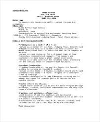 Sample Counselor Resume Amazing 48 Camp Counselor Resume Templates PDF DOC Free Premium Templates
