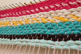 you can also dye white t shirts to make any colors for your t shirt rag rug i can just imagine something beautiful like indigo here s a tutorial on how to