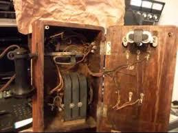 kellogg wood wall crank telephone repair and conversion a1 telephone com 618 235 6959