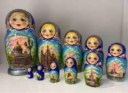 Búp Bê Nga ý Nghĩa gì - Búp Bê Gỗ 10 Con Của Nga Mang Nhiều ý Nghĩa