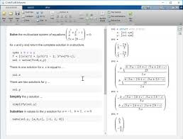 interactively explore and solve parametric equations use solve simplify and substitute to find