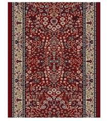 rug on carpet in hallway. BRI02 Wine Carpet Hallway And Stair Runner - 26\ Rug On In