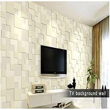 Small Picture Buy LussoLiv 10m Modern Simple 3D Mosaic Living Room Non woven