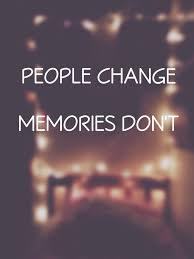 People Change Memories Dont Shared By Antonia