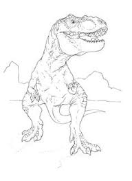 Small Picture Simple T Rex Coloring Pages Kids Colouring Pages Pinterest