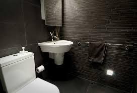 black bathroom. Awesome Black Tile Bathroom
