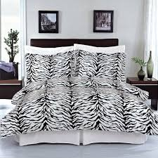 com zebra 3 piece full queen duvet cover set 100 cotton 300 thread count by royal hotel bedding home kitchen