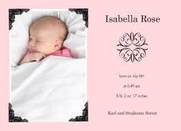 newborn baby announcement sample its a girl baby girl announcement wording