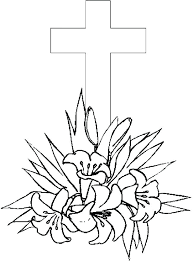 Easter Cross Coloring Pages Coloring With Fun Whereisbisoncom