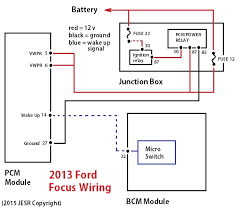 quick fix for 2013 ford focus starting problem after collision 2013 ford focus pcm wiring