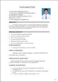 Resume Format Word Marvelous Resume Format Word File Download