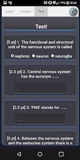 422c Pt Chart The Nervous System Early Access For Android Free