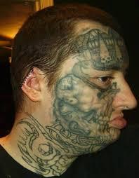25 идиотов которые думают что татуировка на лице это круто