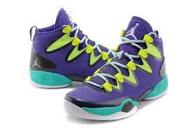 jordan shoes 28. original air jordan 28 basketball shoes men green black purple a