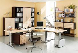 simple elegant home office. Cool Office Setup Ideas A Stair Railings Model Home Furniture Layout Interior Decor Elegant Designs Decorating Simple