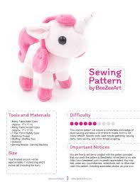 Unicorn Sewing Pattern Unique Inspiration Ideas