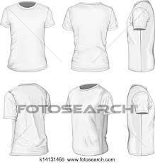 shirt design templates clipart of mens white short sleeve t shirt design templates