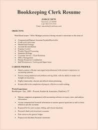 bookkeeper resume sample