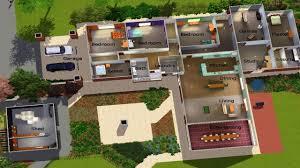 sims 3 modern floor plan luxury sims 3 modern mansion floor plans new house ideas endearing