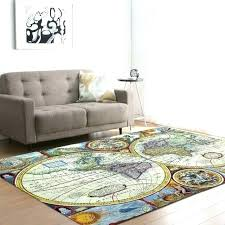 large round white area rug wool grey and black world map furniture astonishing carpets bedroom kids