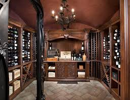 wine cellar shelves staggering wine crates decorating ideas