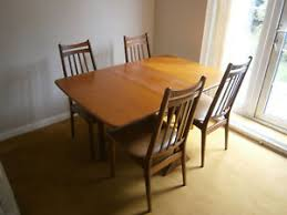 image is loading g plan dining table and 4 chairs